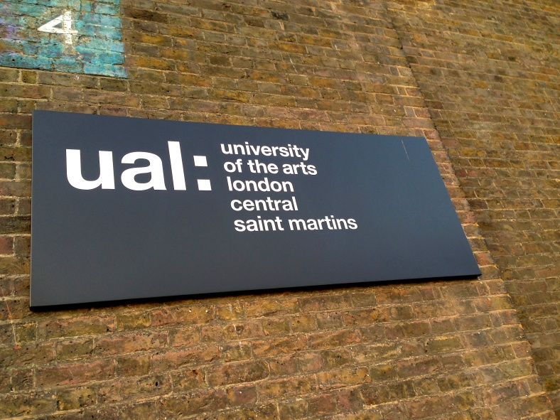 my daughter just got the degree of central saint martins university of the arts london and daddy is proud.
